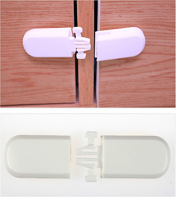 Adhesive Child Kids Baby Safety Lock For Door Drawers Cabinet Cupboard Fridge