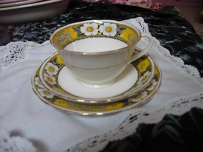 Vintage, New Chelsea, Staffordshire, cup, saucer and tea plate
