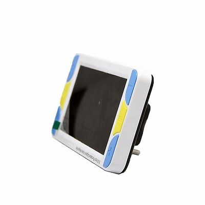 """Portable 5"""" 4x30X HDMI Video Digital Low Vision Magnifier Electronic Reading Aid"""
