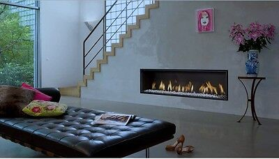 Bell Gas Fire White Marble Stones
