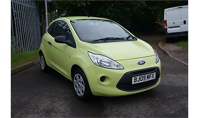2009 (09) Ford KA Studio 1.2l Manual Petrol in Lime Green with Grey Interior
