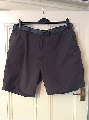 Men's Walking Shorts By Craghoppers Size 38""