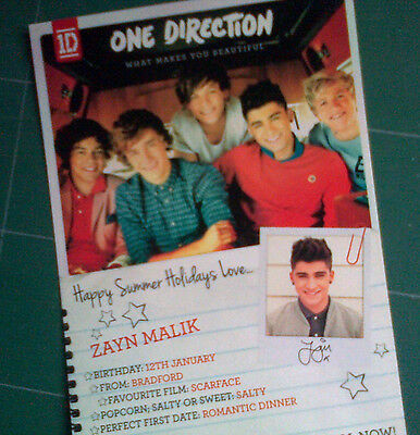 One Direction What Makes You Beautiful 1D Zayn Malik RARE!