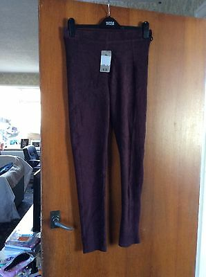 TU purple trousers size 12 new with tags