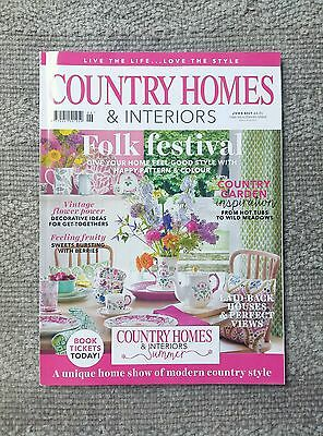 Country Homes & Interiors Magazine June 2017 home interiors decorating styling