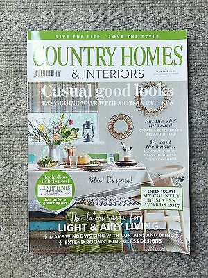 Country Homes & Interiors Magazine May 2017 home interiors decorating styling