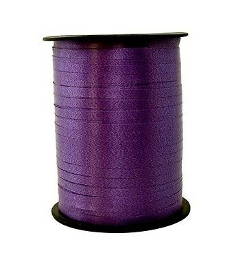 Gift Ribbon purple 10mm x 250m Polyband ribbon Ring tape