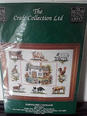 14 count cross stitch kit by The Craft Collection Ltd