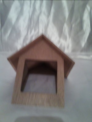 1/12th scale Wooden Dormer Windows