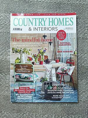 Country Homes & Interiors Magazine May 2016 home interiors decorating styling