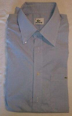 Chemise homme LACOSTE taille 43