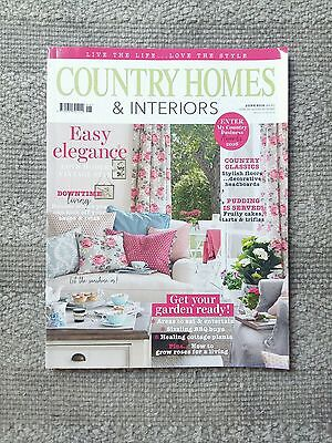 Country Homes & Interiors Magazine June 2016 home interiors decorating styling