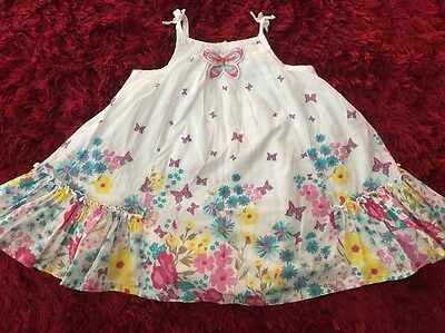 TARGET Baby Girls Cute Floral 🦋Butterfly 🦋 Dress (Size 00)