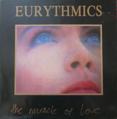 "Eurythmics ""The Miracle of Love"" Vinyl 12"" Single"