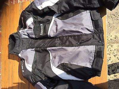 ladies motorcycle jacket and trousers