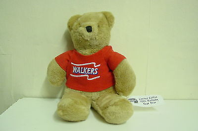 Walkers Crisps Teddy Bear Limited Edition 50th birthday Bean Bear