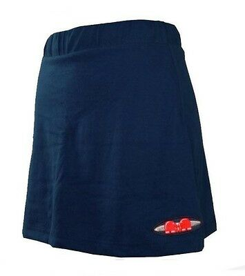 Womens Large TK Ghent Skort NAVY Hockey Netball Tennis blue skirt wo