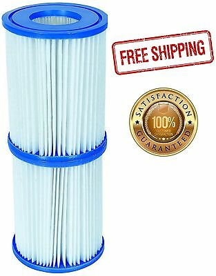 Pool Filter Cartridges Size 2 - For 530/800 gal/hr Swimming Pool Pumps