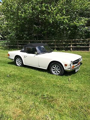 Triumph TR6PI (total nut and bolt rebuild in 2016- better than new)