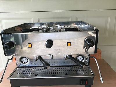 Commercial Coffee Machine With freestanding Mobile Bench