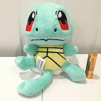 15CM Pokemon Pocket Monster Squirtle Figures Soft Plush Stuffed Toys Doll Teddy