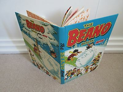 THE BEANO Book/Annual 1979-D.C THOMSON/DANDY-Unclipped - Very Good Condition