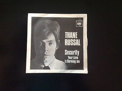THANE RUSSAL. SECURITY 45 Rpm Italy CBS 1966.