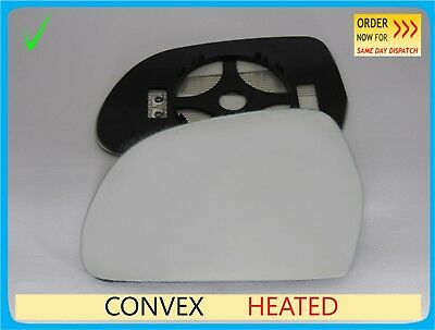 Left convex mirror glass Skoda Octavia Mk2 2004-2009 3LS