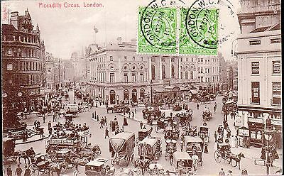 Cpa Royaume Uni (Date Illisible) - Londres, Piccadilly Circus -