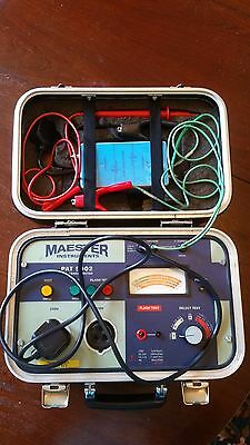 Maester Instruments PAT 5002 Appliance Tester