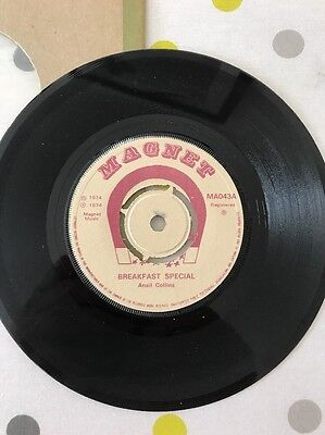 """Ansil Collins Breakfast Special Magnet MA043 7"""" Record"""