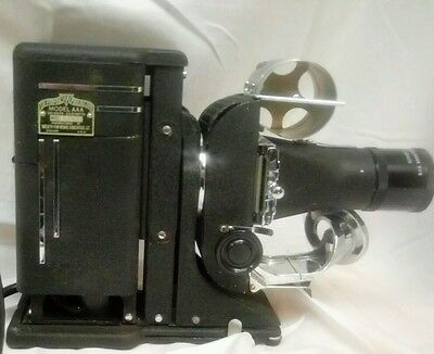 Vintage Boxed SVE Tri-Purpose Projector 35mm Film Projector Model AAA Working