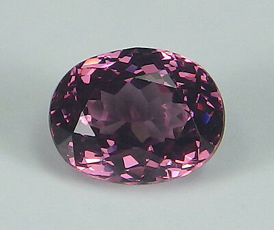 Rare Purplish Pink Natural Rhodolite Garnet Oval 1.17 ct