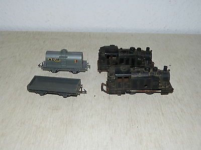 Jouef for Playcraft Wagen Lokomotive Konvolut Lot 50er Jahre 4 Stück H0 France