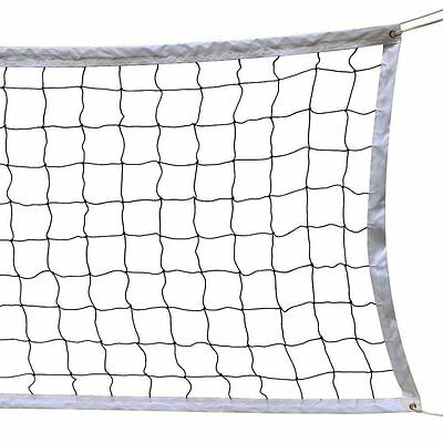 NKTM Outdoor Sports Classic Volleyball Net for Garden Schoolyard Backyard Beach