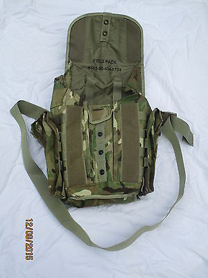 Field Pack,MTP ABC Bag Webbing,PLCE,Coupling bag, Mask bag,Multicam,used