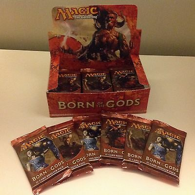 MTG Lot of 6 Factory Sealed Booster Packs Born of the Gods English Version