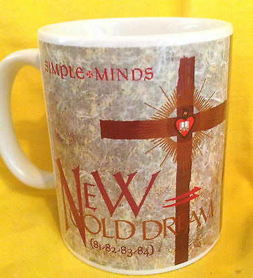 Simple Minds-New Gold Dream 1982 - Album Cover- On A Mug.