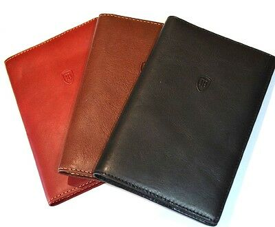 Boxed Golf Scorecard Holder in Italian Vegetale Leather by Tumble & Hide 2313THV