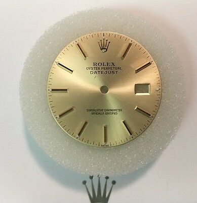 Rolex Datejust Dial Champagne with Baton Markers fits 36mm watch