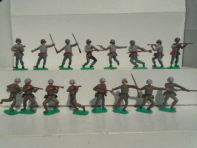 Vintage Timpo American Soldiers Very Nice Condition Job Lot