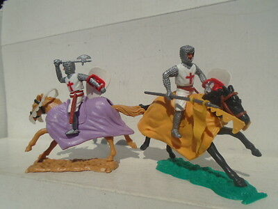 Vintage Timpo Mounted Knights Mint Condition