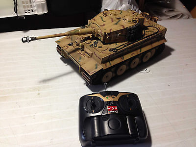 WSN TIGER 1/16 Tank IR infrared Firing RC Tank 1:16 Heng long  remote control