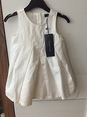 Tommy Hilfiger Baby Girl White Dress 12-18 Months EU Size 80