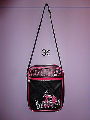 Sac Rose Fille Sacoche Bandouliere Monster High