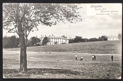 Duppas Hill Recreation Ground Croydon Surrey Postcard