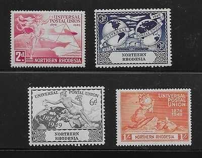 Northern Rhodesia Sc# 50-3 Mlh Stamps