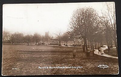 Park Hill Recreation Ground Croydon Surrey Postcard