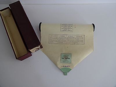 "Antique Pianola/Piano Music Roll-Themodist ""Valse Romantique"" Chaminade"