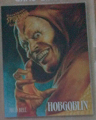 Spider Man 1995 Fleer Ultra - GOLDEN WEB - CARD 3 OF 9 HOBGOBLIN